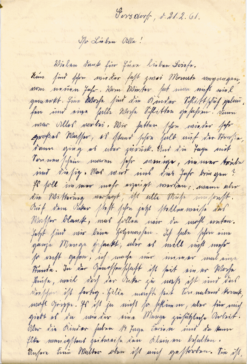 Briefe Für Oma : Briefe von oma lydia geb walther